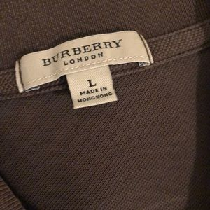 Burberry Shirts - EUC Men's Burberry polo s/s